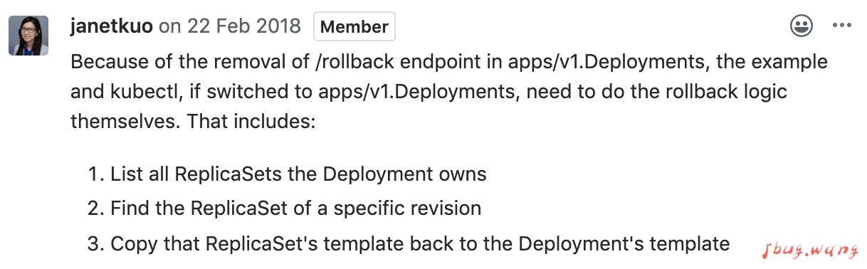apps/v1版本下使用client-go实现kubernetes回滚的方法